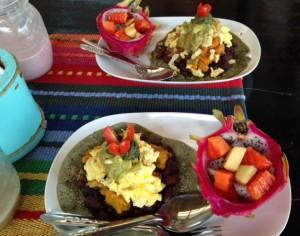 Breakfast at Karma Cafe