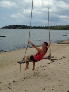 Mysha on the beach