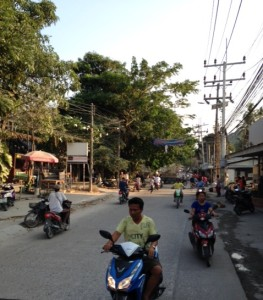 Busy Sairee Road