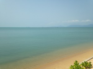 Samui beach view