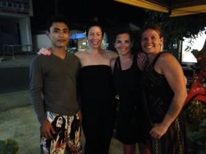 Last dinner in Thailand