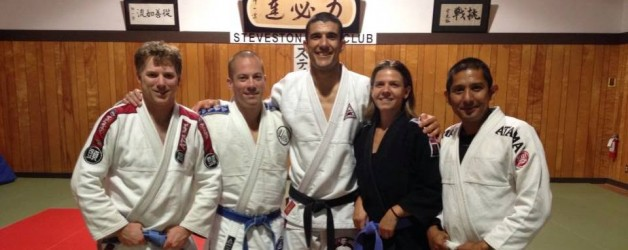 Rener Gracie Visits Vancouver