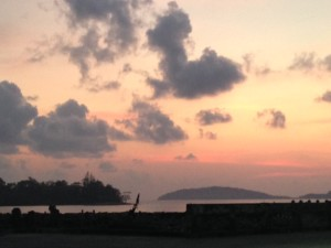 Chumphon Ferry Sunrise