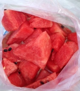 Watermelon snack